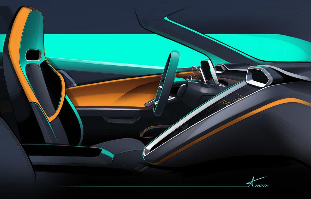 Istorie științifico-fantastică: conceptul GTZero, creat de Italdesign Giugiaro, amestecă liniile unor modele din trecut cu trei motoare electrice - Poza 3