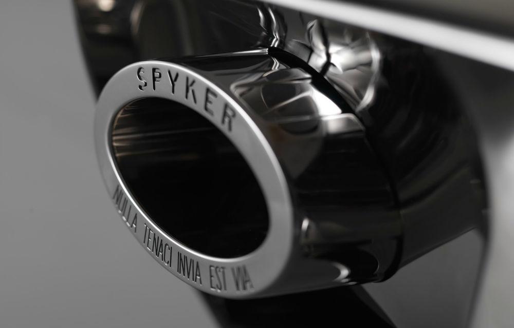 Spyker C8 Preliator, supercarul botezat după un avion de vânătoare din Primul Război Mondial - Poza 2