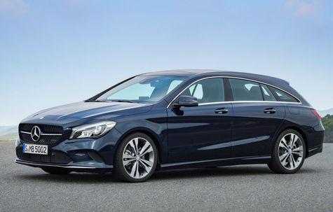 Mercedes-Benz CLA Shooting Brake facelift