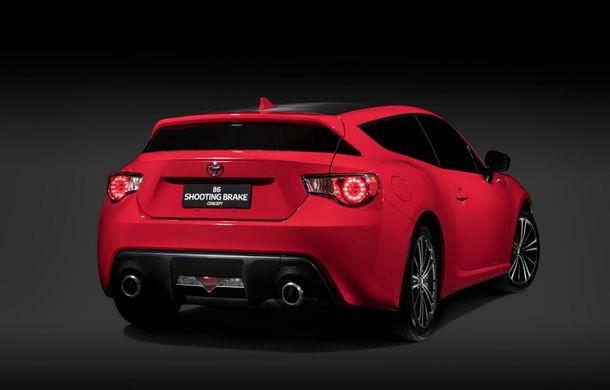 Sportiva pentru familişti: Toyota GT86 Shooting Brake Concept e spectaculoasă, dar nu va fi lansată niciodată în producţie - Poza 2