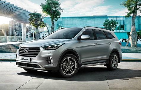 Hyundai Grand Santa Fe facelift