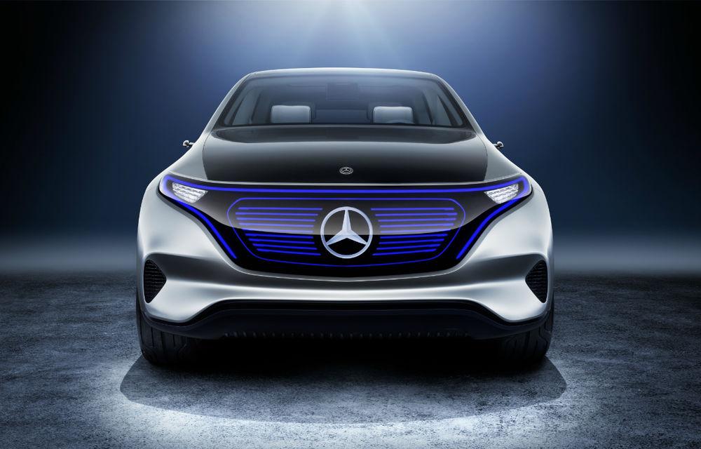 Noua eră Mercedes începe azi: Conceptul Generation EQ anunță un SUV electric și sub-brandul electric EQ - Poza 2