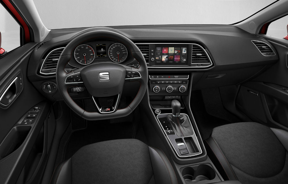 Seat Leon facelift: compacta spaniolă primeşte două motorizări noi de 115 CP şi mai multă tehnologie - Poza 2