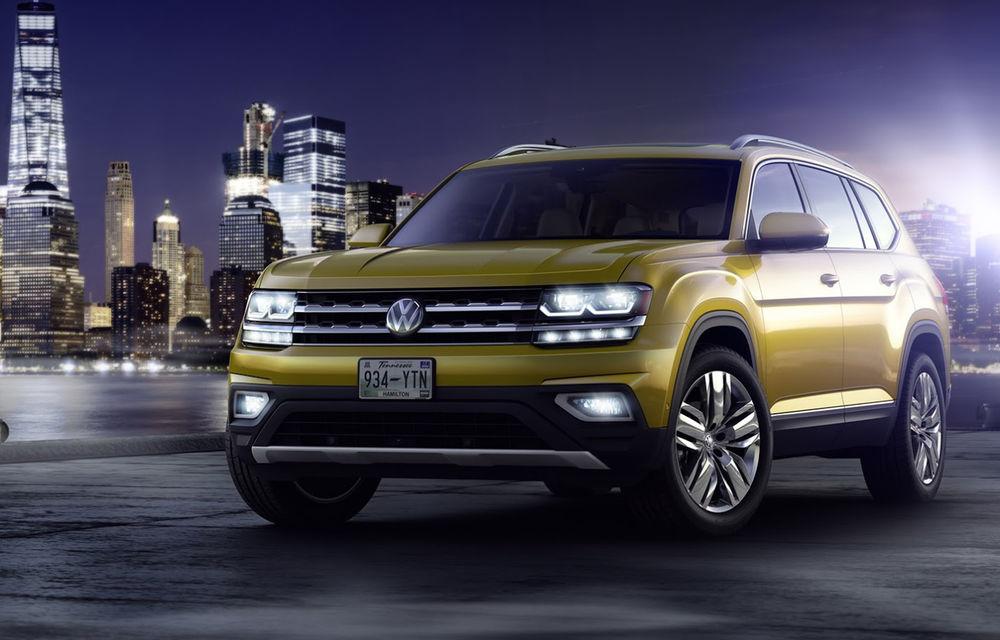 Faceți cunoștință cu Volkswagen Atlas, un SUV cu șapte locuri, fratele mai mare al lui Touareg - Poza 2