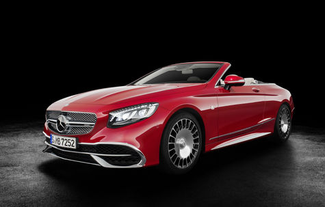 Mercedes-Benz Maybach S650 Cabriolet