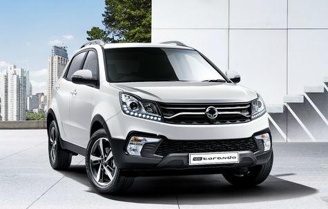 SsangYong Korando facelift