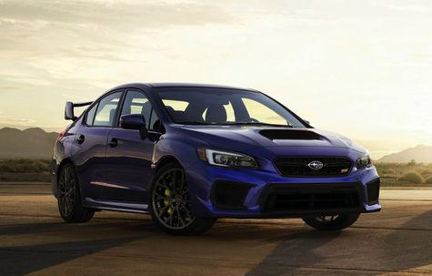 Subaru Impreza WRX STI facelift