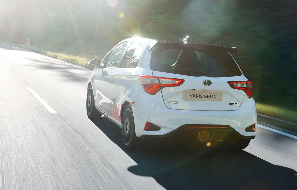 Toyota Yaris GRMN: hot hatch-ul nipon are 212 cai putere și face 0-100 km/h în 6.3 secunde - Poza 2