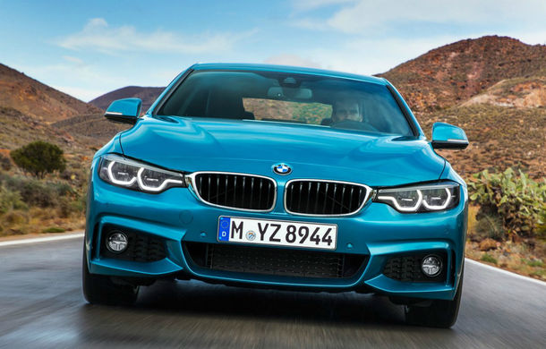 BMW Seria 4 facelift: mici schimbări de design la exterior și interior pentru toată gama de versiuni a modelului de clasă medie - Poza 2