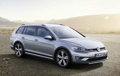 Volkswagen Golf Alltrack facelift