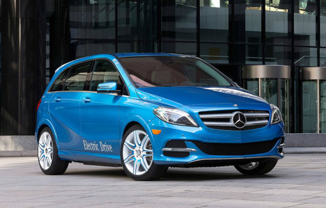 Mercedes-Benz Clasa B electric