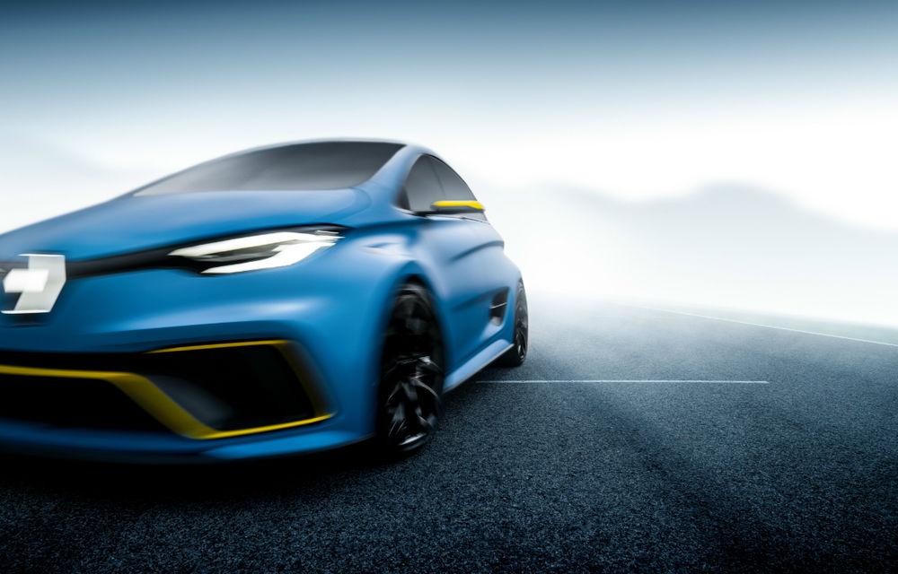 Renault nu exclude posibilitatea lansării unui model electric de performanță: conceptul Zoe e-Sport cu 460 CP a deschis apetitul fanilor - Poza 2