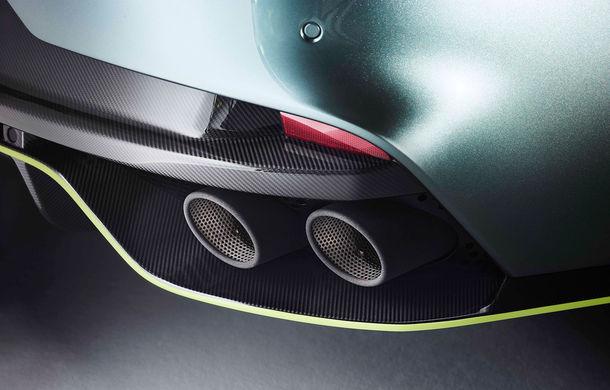 Noul Aston Martin Rapide AMR: V12 de 6.0 litri și 603 cai putere, 0-100 km/h în 4.4 secunde și ediție limitată la 210 unități - Poza 2