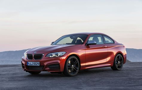 BMW Seria 2 Coupe facelift