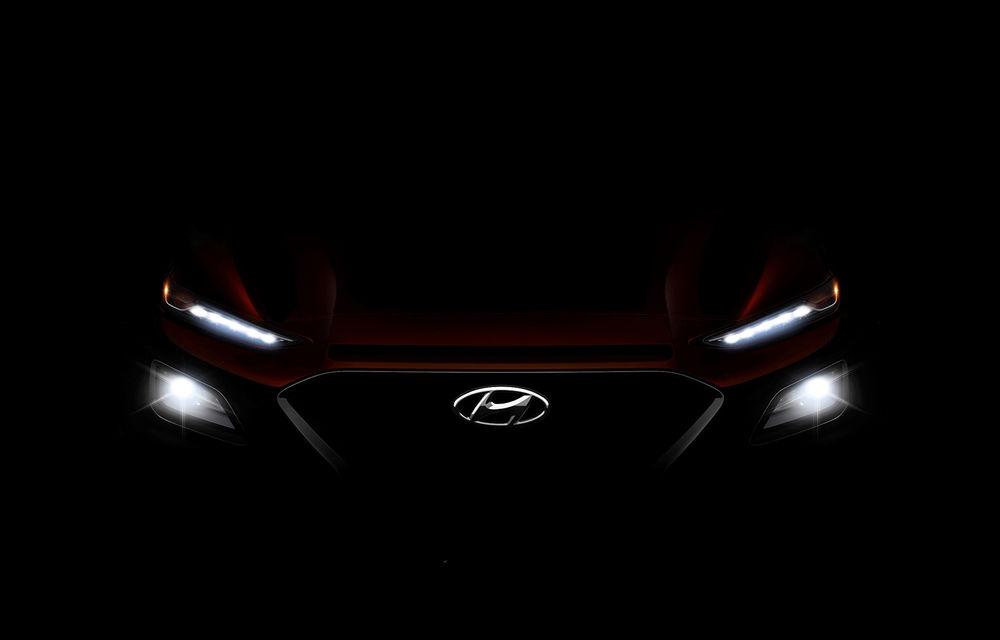 Hyundai Kona: Versiunea electrică a SUV-ului sud-coreean vine în 2018 și va avea o autonomie de aproape 400 de kilometri - Poza 2