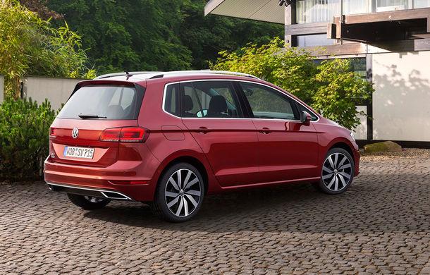 Volkswagen Golf Sportsvan facelift: monovolumul german primește motoare și tehnologii noi - Poza 2