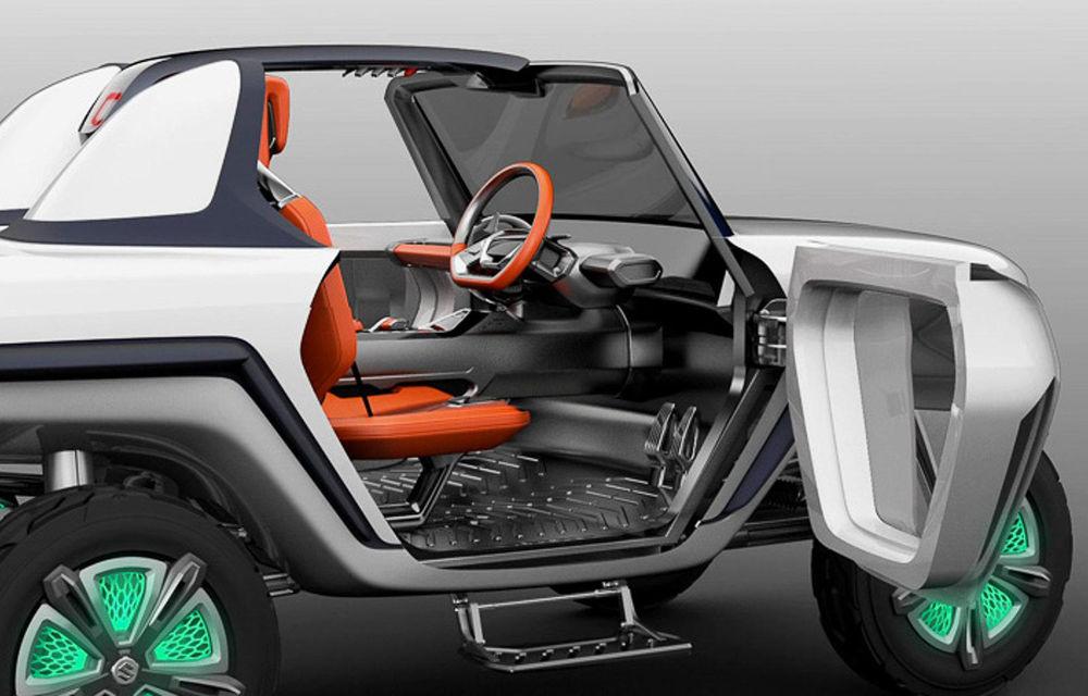 Suzuki nu uită de pasionații de off-road: e-Survivor este un concept electric și poate face față ieșirilor în teren accidentat - Poza 2