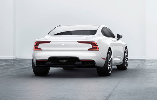 Polestar 1: coupe-ul hibrid de 600 de cai putere apare în 2019 și poate fi comandat doar pe internet pe bază de abonament anual - Poza 2