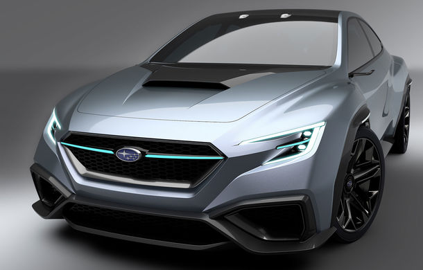 Subaru Viziv Performance: conceptul care anunță viitoarea generație WRX a debutat în Tokyo - Poza 2