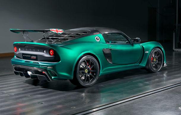 Lotus Exige Cup 430: sportiva britanică are 436 de cai putere și o viteză maximă de 290 km/h - Poza 2