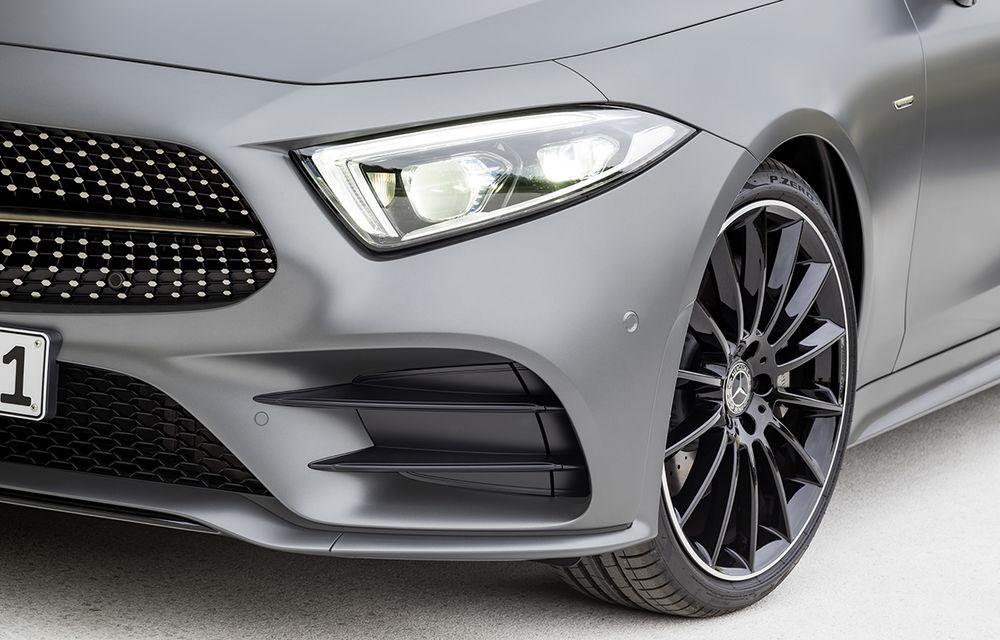 Acesta este noul Mercedes-Benz CLS: design frontal inedit și o armată de tehnologii în lista de opțiuni - Poza 2