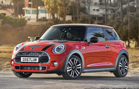 MINI Hatch 3 usi facelift