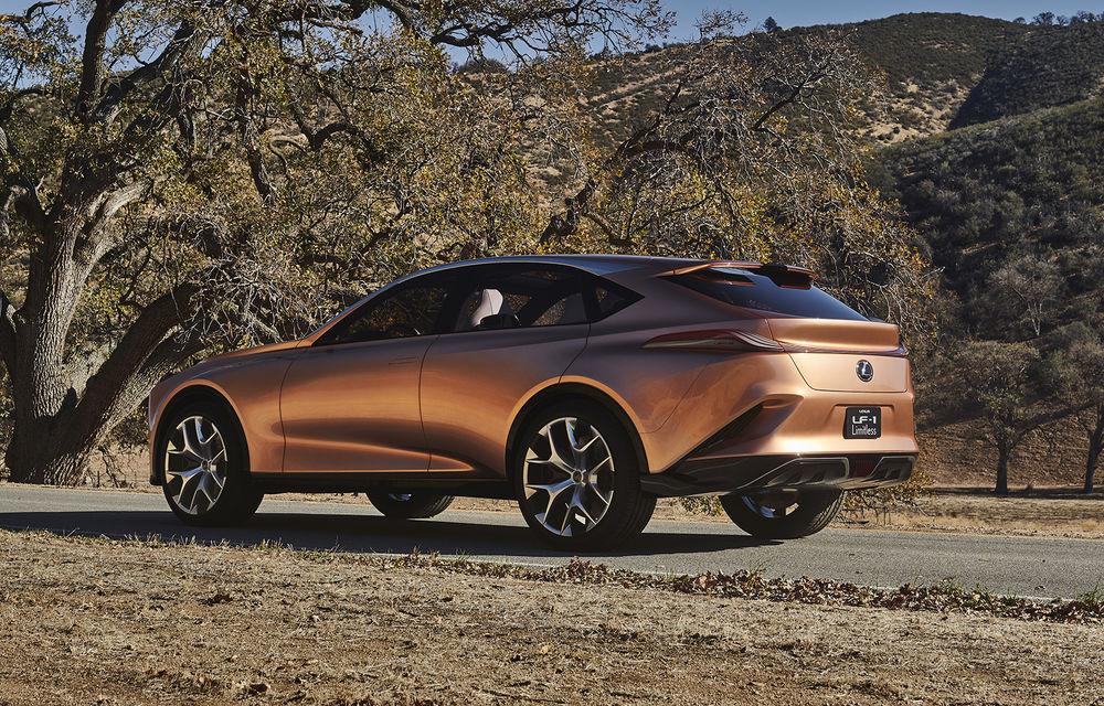 Rival pentru Lamborghini Urus: Lexus pregătește un SUV de 670 CP bazat pe conceptul LF-1 Limitless - Poza 2