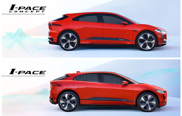 Jaguar i-Pace este primul SUV electric disponibil în România: prețurile încep de la 78.000 de euro - Poza 4