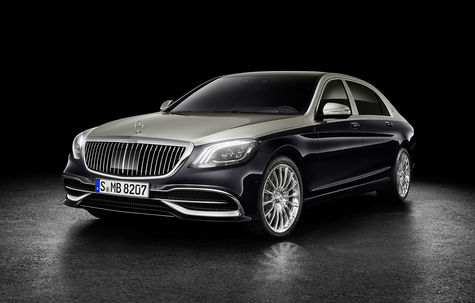Mercedes-Benz Maybach Clasa S facelift