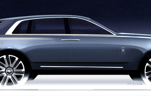 SUV-ul Rolls-Royce Cullinan debutează în 10 mai: livrările încep în prima parte a anului viitor - Poza 2