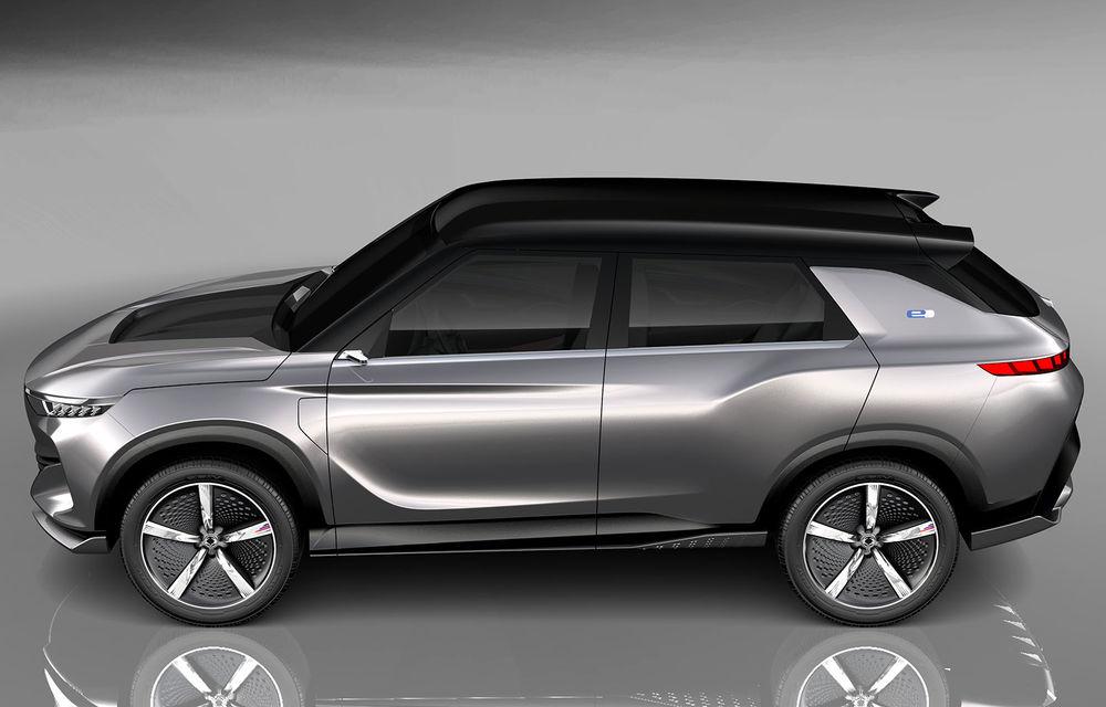 Ssangyong e-SIV: conceptul anunță un SUV electric cu 190 CP și autonomie de 450 de kilometri - Poza 2