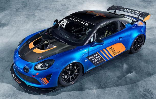 Alpine A110 GT4: francezii au lansat la Geneva al doilea model destinat circuitelor - Poza 2