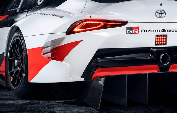 Toyota GR Supra Racing: conceptul care anunță renașterea legendarului Supra - Poza 2