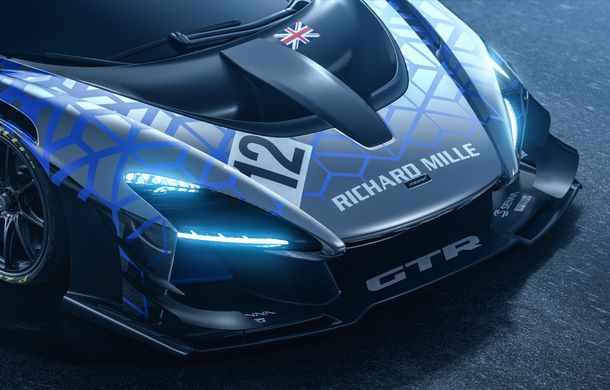 McLaren Senna GTR Concept a ajuns la Geneva: prototipul anunță un viitor model dezvoltat exclusiv pentru circuit - Poza 2