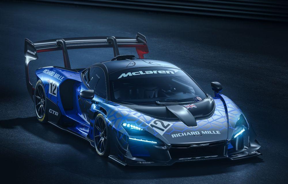 Varianta de producție a lui McLaren Senna GTR Concept ar putea fi prezentată la finalul săptămânii: modelul destinat circuitului va fi produs în doar 75 de unități - Poza 2