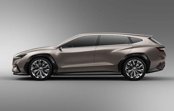 Subaru Viziv Tourer Concept: prototipul anunță lansarea unui nou break al constructorului japonez - Poza 2