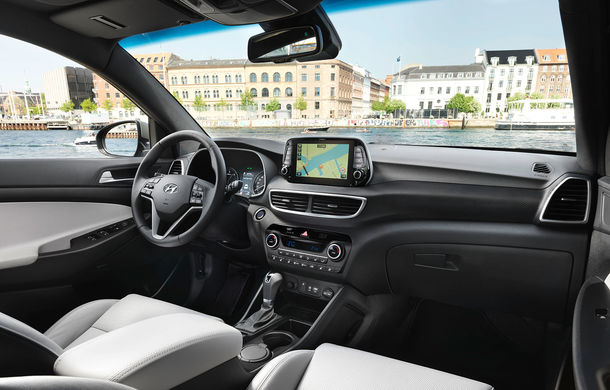 Premieră la Hyundai: Tucson facelift este primul model al companiei care primește versiune micro-hibridă cu motor diesel și acumulator de 48 V - Poza 2