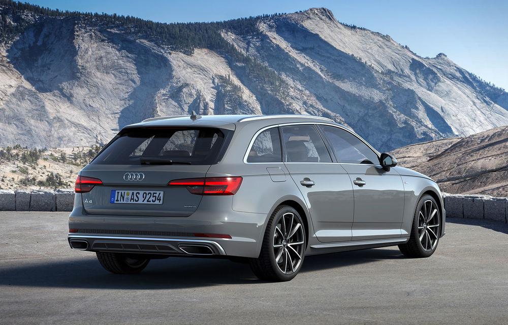 """Audi A4 și A4 Avant primesc un facelift subtil: modificări minore la barele de protecție și linie de echipare """"S line competition"""" - Poza 2"""