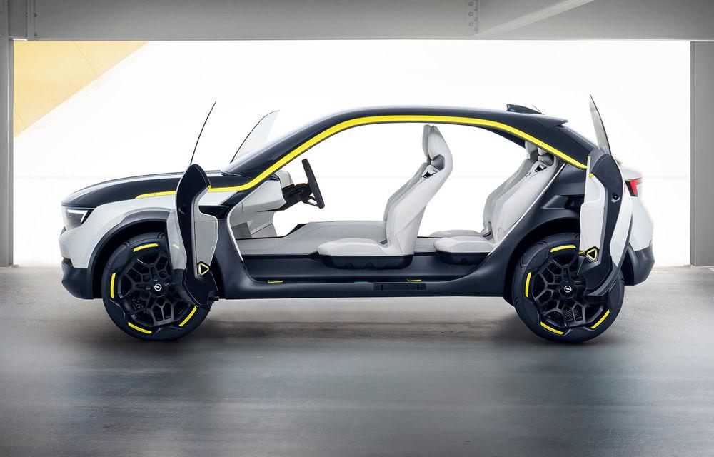 Opel GT X Experimental: conceptul 100% electric anticipează viitoarea direcție de design a mărcii - Poza 2