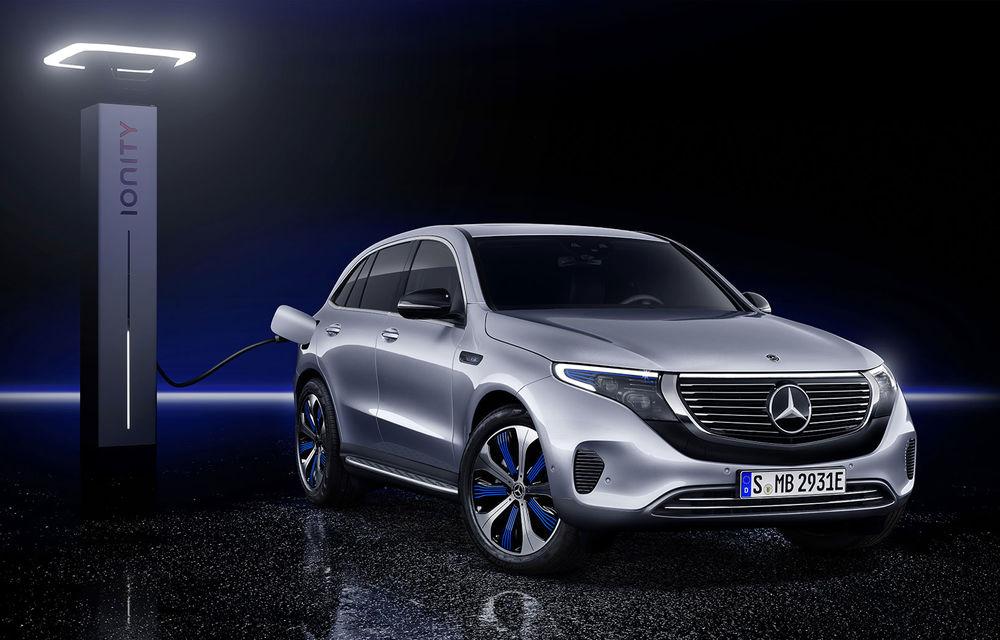 Mercedes EQC a fost prezentat oficial: SUV-ul electric are două motoare de 408 CP și autonomie de maximum 450 kilometri - Poza 2