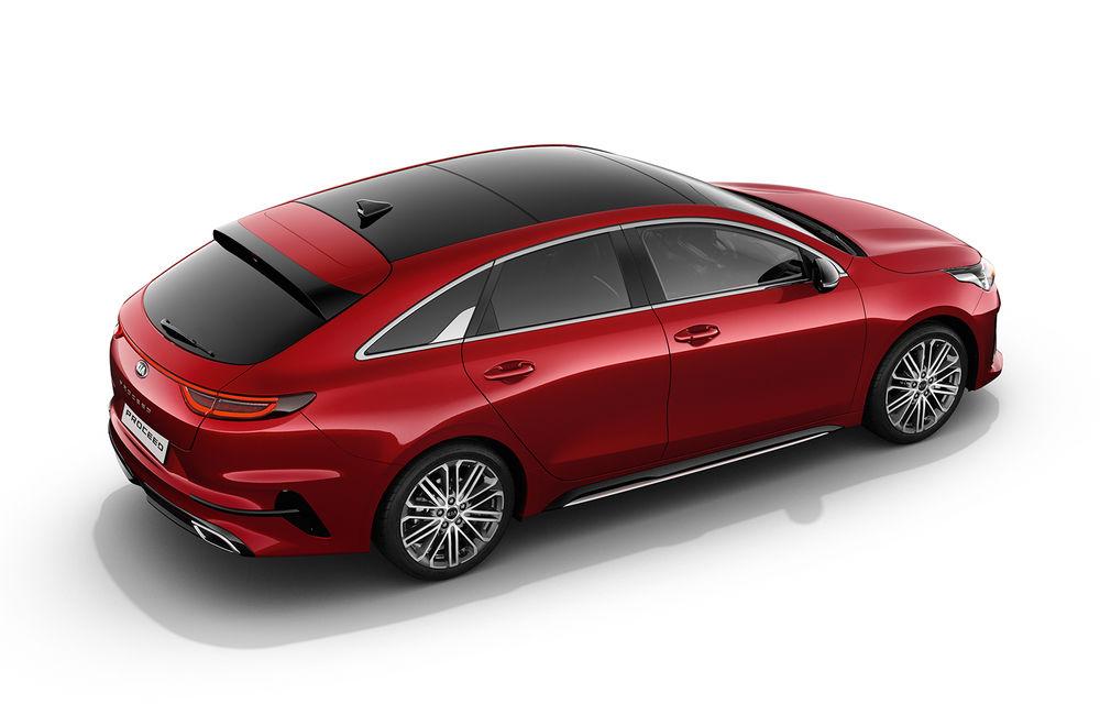Kia ProCeed: shooting brake cu două motoare pe benzină și un diesel. Versiunea de performanță GT oferă 204 cai putere - Poza 2