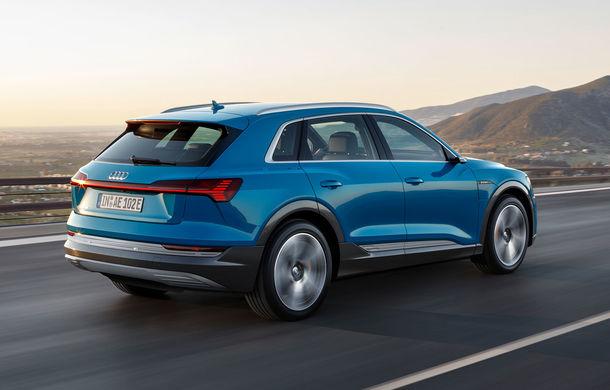 Audi e-tron, poze și informații oficiale: SUV-ul electric are 402 CP și autonomie de peste 400 de kilometri - Poza 2