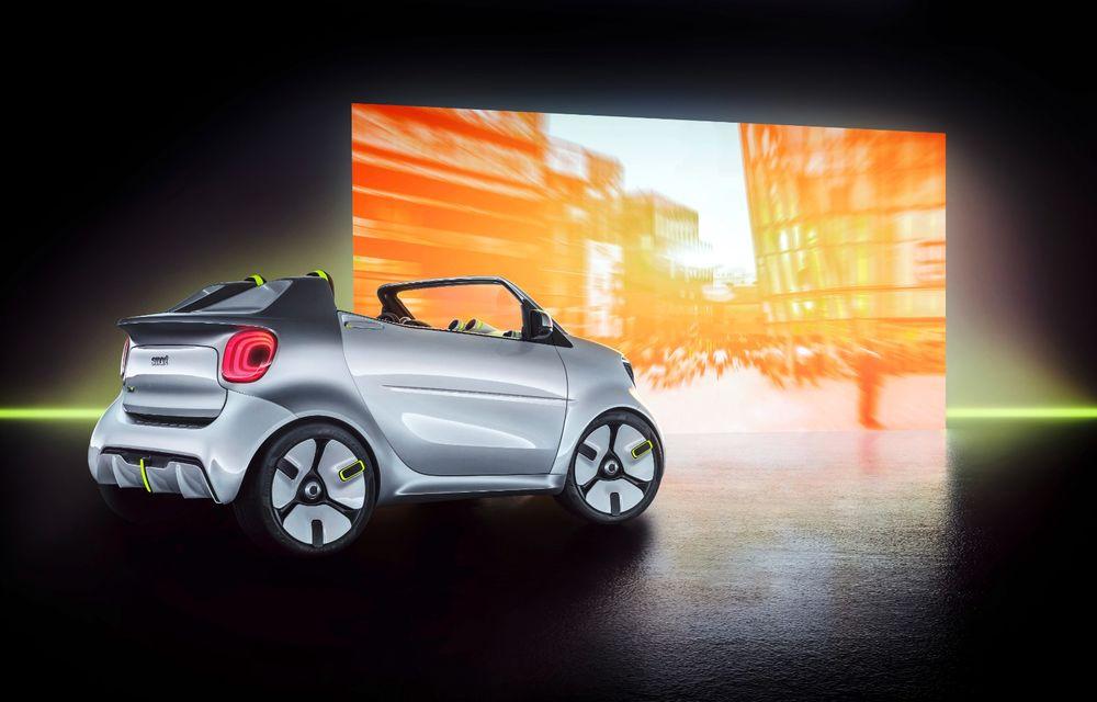 Smart Forease debutează la Paris: conceptul electric marchează 20 de ani de la debutul primului model Smart - Poza 2