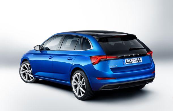 Skoda Scala este disponibil și în România: rivalul lui Volkswagen Golf pleacă de la 15.400 de euro - Poza 2
