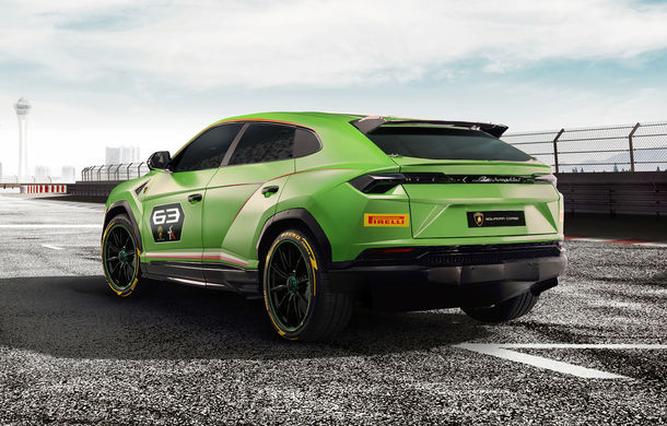 Lamborghini Urus ST-X: conceptul anticipează lansarea unui Urus de curse pentru o competiție monomarcă în 2020 - Poza 2