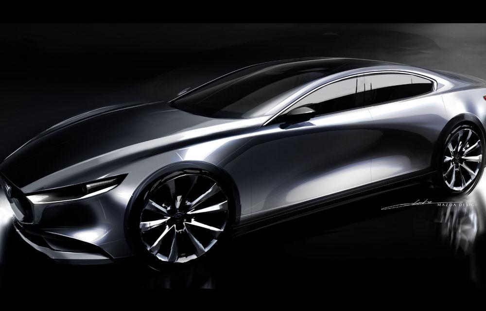 Noua generație Mazda 3: îmbunătățiri de design și debutul motorului pe benzină Skyactiv-X cu aprindere prin compresie - Poza 2