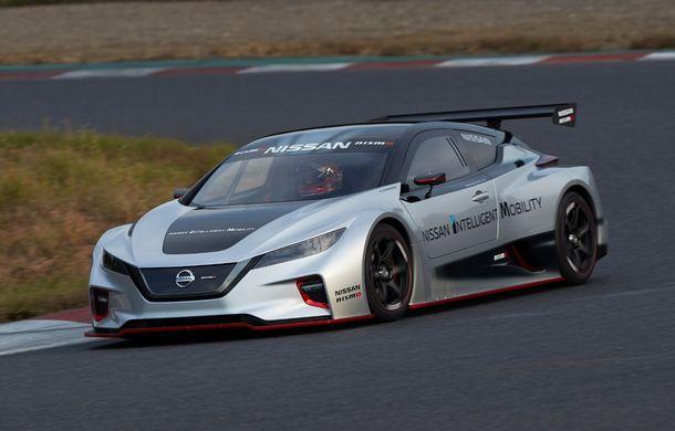 De înaltă tensiune: Nissan Leaf Nismo RC demonstrează potențialul extrem al tehnologiei electrice - Poza 2
