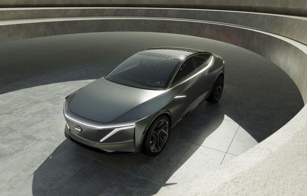 Nissan IMs: conceptul electric cu autonomie de peste 600 de kilometri anticipează un sedan sportiv - Poza 2