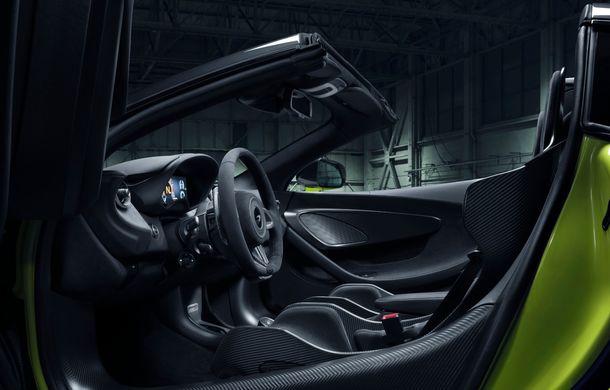 McLaren 600LT Spider: design exterior modificat, masă totală redusă și 2.9 secunde pentru sprintul 0-100 km/h - Poza 2