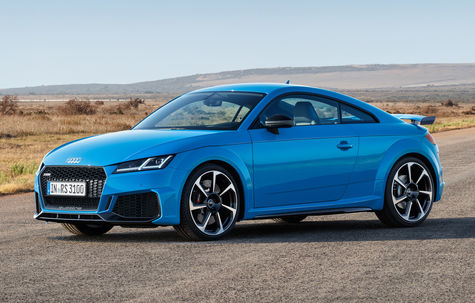 Audi TT RS Coupe facelift